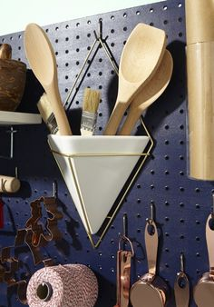 Use a Pegboard to Store All Your Baking Gear | Kitchn