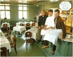 Restaurant Purzelbaum. Salzburg. Salzburg, Conference Room, Restaurant, Table, Furniture, Home Decor, Decoration Home, Room Decor, Diner Restaurant