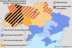 Ukraine's Messy Situation Inspires a Messy Map