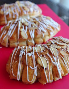 Almond Bear Claws-Oh yum-family favorite gotta make these!