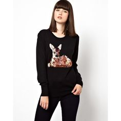 Markus Lupfer Fawn Sequin Sweater