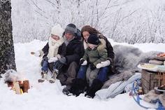 winter picnic for family