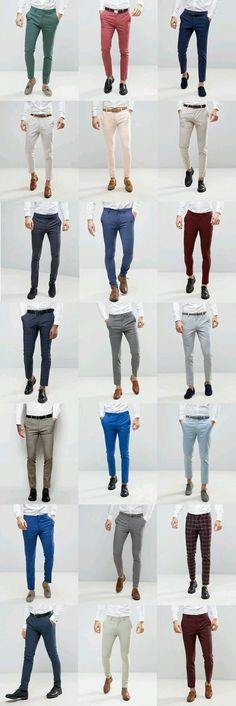 Mens Style Discover 21 ASOS Wedding skinny suit pants for guys - FrenzyStyle Mode Outfits, Fashion Outfits, Fashion Wear, Fasion, Fashion Styles, Fashion Clothes, Retro Fashion, Fashion Trends, Mode Bcbg