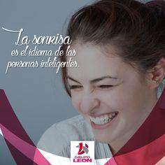 La sonrisa es el arma más poderemos que poseemos <3 #Smile #Quotes #Motivation