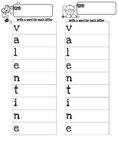 valentines friendly letter stationery  Winter Themes  Pinterest