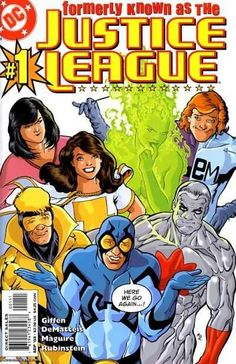 Today's Comic Cover - Formerly Known as the Justice League ( 2003 )