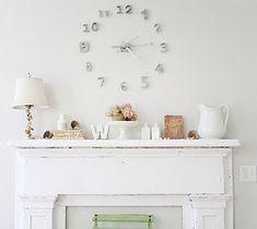 DIY: Wall clock #DIY