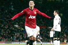 Manchester United 4-1 Fulham... Baile a lo 'Chicharito'. Javier jugó los 90 minutos y firmó gran actuación.