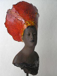 galerie het raadhuis Famous Sculptures, African Sculptures, Ceramic Sculpture Figurative, Sculpture Clay, Ceramic Figures, Clay Figures, African Pottery, Indian Artist, Clay Design
