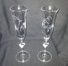 Beauty-and-the-Beast-Crystal-Champagne-Flute-Set