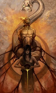 LOKI: the Naughty Trickster God from Norse Mythology ~ by sandara on deviantART EDMUND