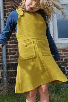 jurk uit jas by Tante Hilde