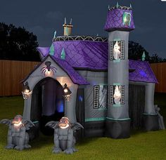 Inflatable Halloween tent, or my new secret lair for my bed?