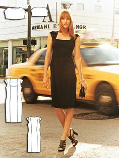 Dress and Pelerine 07/2011 #131