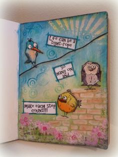 Tim Holtz - Stampers Anonymous Stamps - Bird Crazy stamps