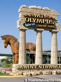 Wisconsin Dells - Mt. Olympus best vacation for the whole family i have been there 3 times going on 4. We used to go every year.