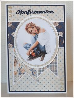 Scrapbook Pages, Scrapbooking, Projects To Try, Card Making, Paper Crafts, Inspiration, Vintage, Denim, Studio