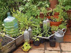Obyčajné plastové fľaše môžu dobre poslúžiť aj v záhrade. S trochou šikovnosti si z nich môžete vyrobiť pomôcky, ktoré sa vám pri prácach v záhrade zídu. Prinášame pár tipov.