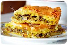 Κιμαδόπιτα με κουρκουμά Spanakopita, Ethnic Recipes, Food, Meals, Yemek, Eten