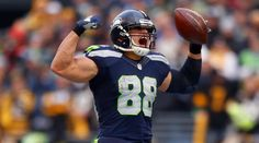 The star tight end, who will face his old team in New Orleans this Sunday, has become the most dangerous weapon in the Seahawks' offense
