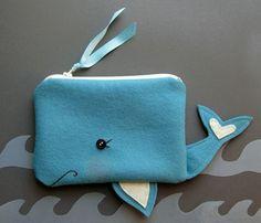 A Whale of a Pouch FELT