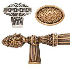 Luxury Bathroom Knobs edgar berebi - decorative hardware collection - hampton