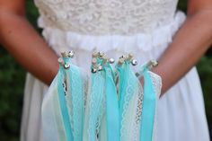 Wedding Wands - Hochzeitsstäbe mit Glöckchen in silber oder gold Wedding Wands, Drop Earrings, Gold, Etsy, Jewelry, Fashion, Silver, Dekoration, Moda