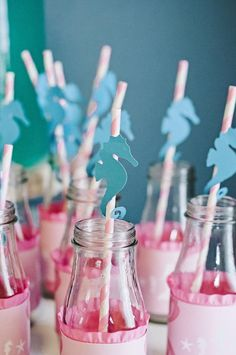 Under the Sea Mermaid Party via Kara's Party Ideas: Sea horse accent