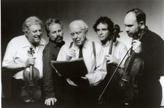 Eliott Carter & the Juilliard Quartet | #composer #stringquartet