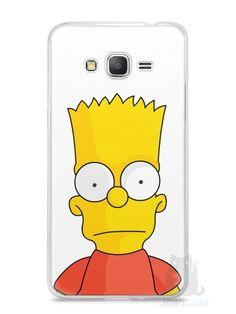 Capa Samsung Gran Prime Bart Simpson - SmartCases - Acessórios para celulares e tablets :)