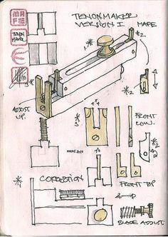 Tenonmaker MAFE1 (Not a kerfmaker) - by mafe @ LumberJocks.com ~ woodworking community