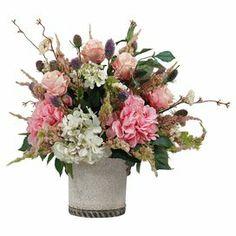 Hydrangea & Rose Arrangement