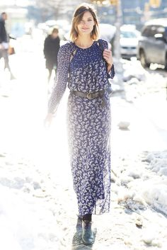 Best Street Style at New York Fashion Week Fall 2014