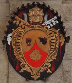 Sacred Papal Coat-Of-Arms of his Holiness Benedict XVI