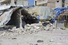 14 قتيلا بقصف جوي على مزارع قرب مدينة كفرتخاريم بإدلب