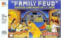 Family Feud Edition Board Game by Milton Bradley Fun Board Games, Games To Play, Bored Games, Question Game, Milton Bradley, Win Money, Thing 1, Family Feud, Room Organization