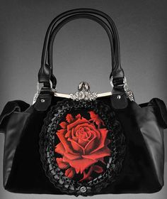 The Red Rose Romantic Handbag.