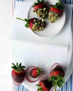 Chocolate-Covered Strawberries Recipe