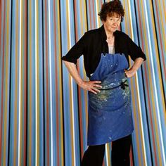 Bridget Riley CH CBE is an English painter who is one of the foremost exponents of Op art. She currently lives and works in London, Cornwall, and France. Wikipedia
