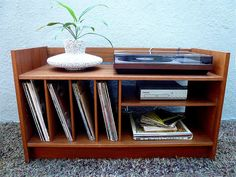 10 DIY Entertainment Center That's Simply Entertaining for Everyone 10 home improvement entertainment center that is simply entertaining for all middle of the century Stereo Cabinet, Record Cabinet, Media Cabinet, Danish Modern, Trendy Baby, Vinyl Storage, Lp Storage, Record Storage, Rack