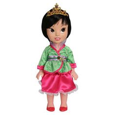 My First Disney Princess Mulan. A charmingly crafted doll for toddlers.
