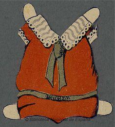[Muñeca recortable]. Grabado — 1920-1930?