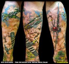 aircraft tattoo