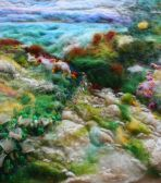 Beginners Feltmaking Class - Becky Williams Textile Artist, Manly, Sydney NSW Manly Sydney, Textile Courses, Felt Pictures, Textile Artists, Textiles, Fabrics, Textile Art