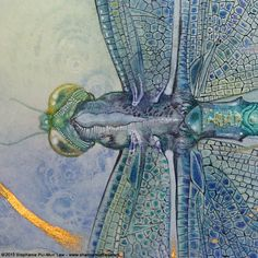 Shadowscapes - The Art of Stephanie Law Dragonfly Drawing, Dragonfly Art, Illustrations, Illustration Art, Art Drawings, Horse Drawings, Drawing Art, Fairy Art, Art Studies