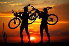 #sun #friends #mtb