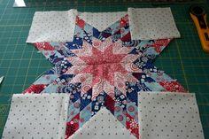 Lone Star Block tutorial - Hopeful Homemaker