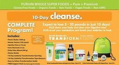 Purium Complete 10 Day Transformation Cleanse - Apple Berry Flavor only $240! 10 Day Cleanse Armor up Warriors  WealthOfHealthWarriors@gmail.com http://www.mypurium.com/WealthOfHealthWarriors  Redeem $50 Gift Card: WealthOfHealthWarriors