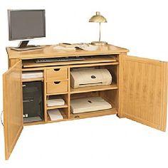 aston solid oak hidden mobel solid image of aston solid oak hidden in medara wood computer desk hideaway 374 desks throughout home entertainment cabinet