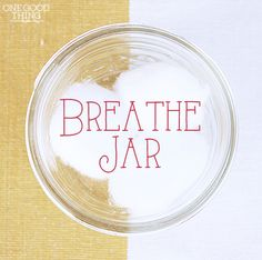 "Make Your Own ""BREATHE JAR"" To Relieve Sinus Congestion. Instead of the cotton balls (which are also a good idea) I've used large grain salt in a teeny glass jar so I can carry it around in my pocket. The salt keeps the scent fresh for years. Herbal Remedies, Health Remedies, Natural Remedies, Young Living Oils, Young Living Essential Oils, Relieve Sinus Congestion, Alternative Health, Health And Beauty Tips, Natural Healing"